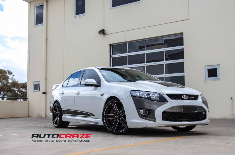 Ford FALCON FRCS MATTE BLACK MILLED ACCENTS