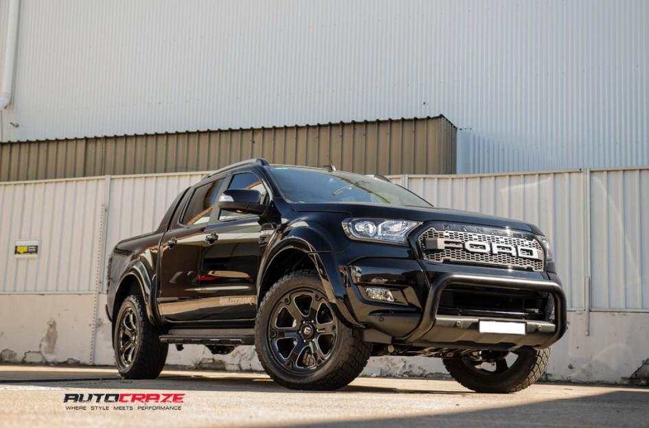 Ford RANGER BEAST GLOSS BLACK MILLED ACCENTS