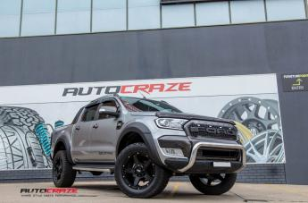 Ford RANGER GD04 MATTE BLACK