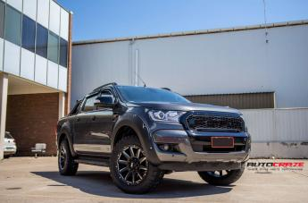Ford RANGER GD05 MATTE BLACK MILLED ACCENTS