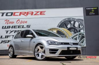VOLKSWAGEN GOLF TMB SILVER MACHINED FACE