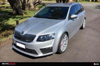 SKODA VRS SF07 GLOSS SILVER  small