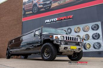 Hummer H3 LIMOUSINE ATX AX201 BRONZE WITH BLACK LIP