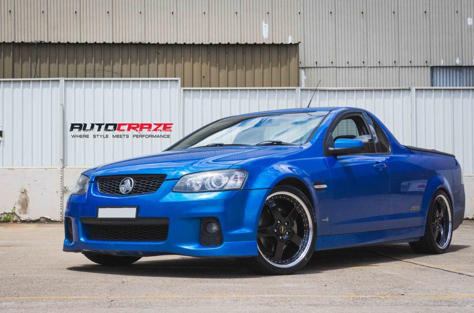 Holden COMMODORE VE UTE FR-1 BLACK MACHINED LIP