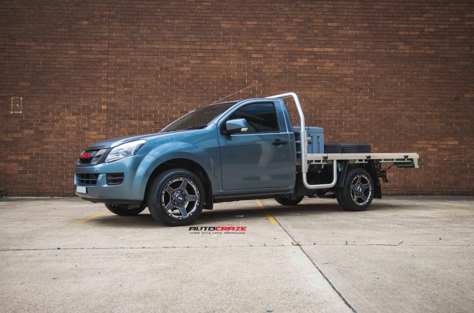 Isuzu DMAX GD04 GRAPHITE WITH MILLED ACCENTS