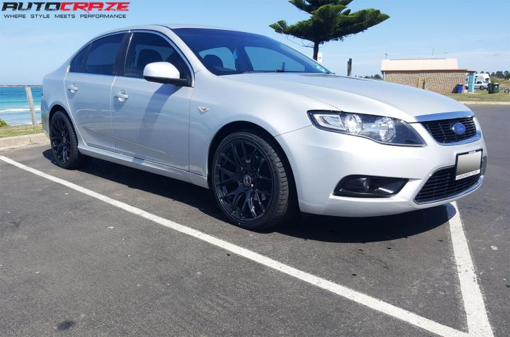 FORD FALCON FG OX111 GLOSS BLACK