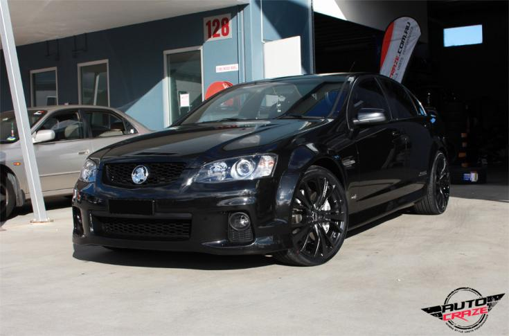 Holden Commodore Ve Ss Ultimate Matte Black Car Gallery